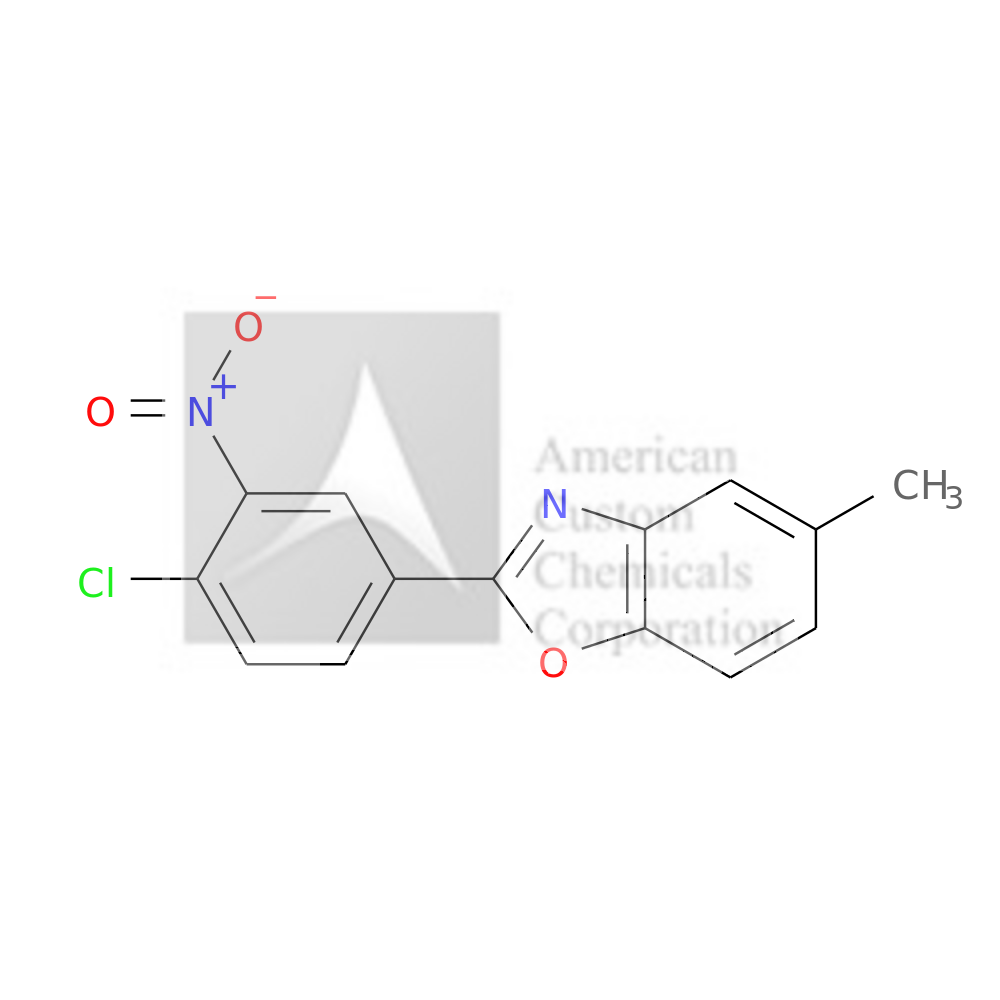 2-(4-CHLORO-3-NITROPHENYL)-5-METHYL-1,3-BENZOXAZOLE is now  available at ACC Corporation