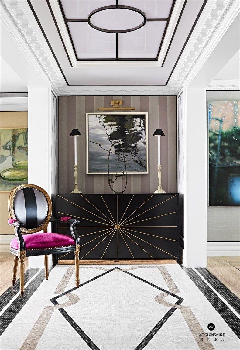 Foyer Luxury Brands : Baptiste bohu:上海浦东世贸湖滨公寓设计- vignettes and styling
