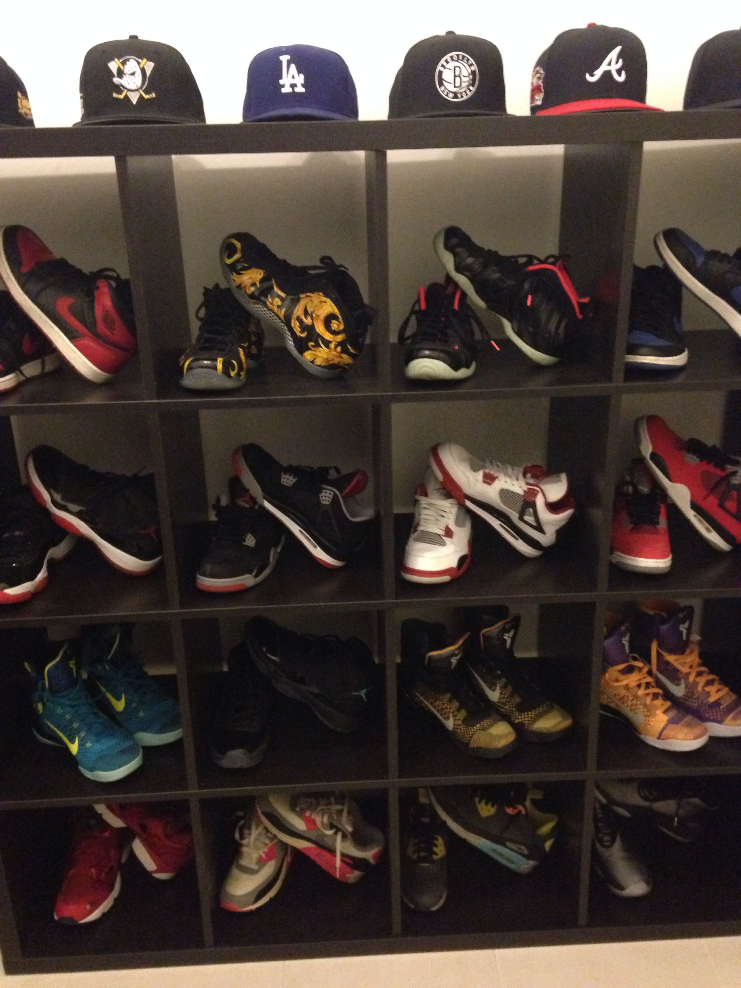 04e0f4bd7a476 Part 1 of my sneaker shelf  Achieved  )