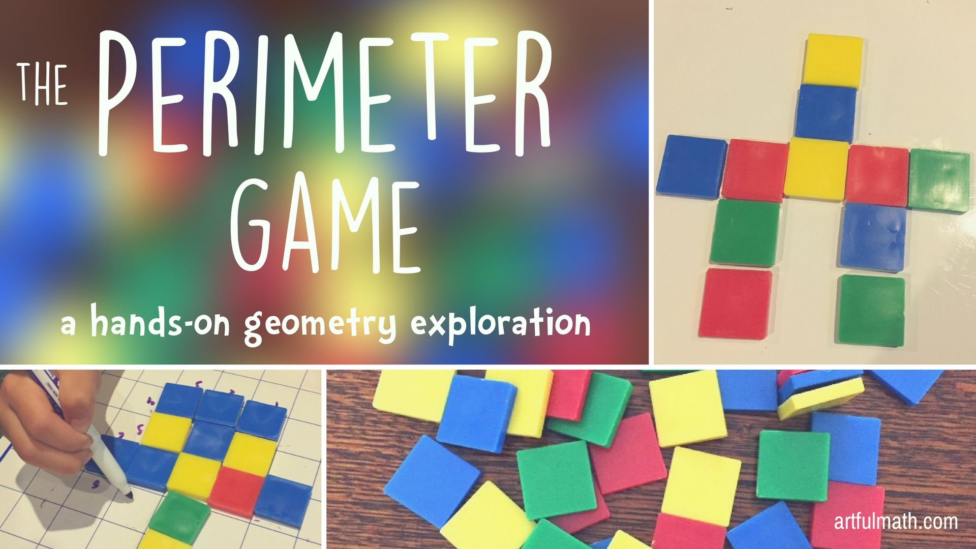 The Perimeter Game A Cool Geometry Game For Kids