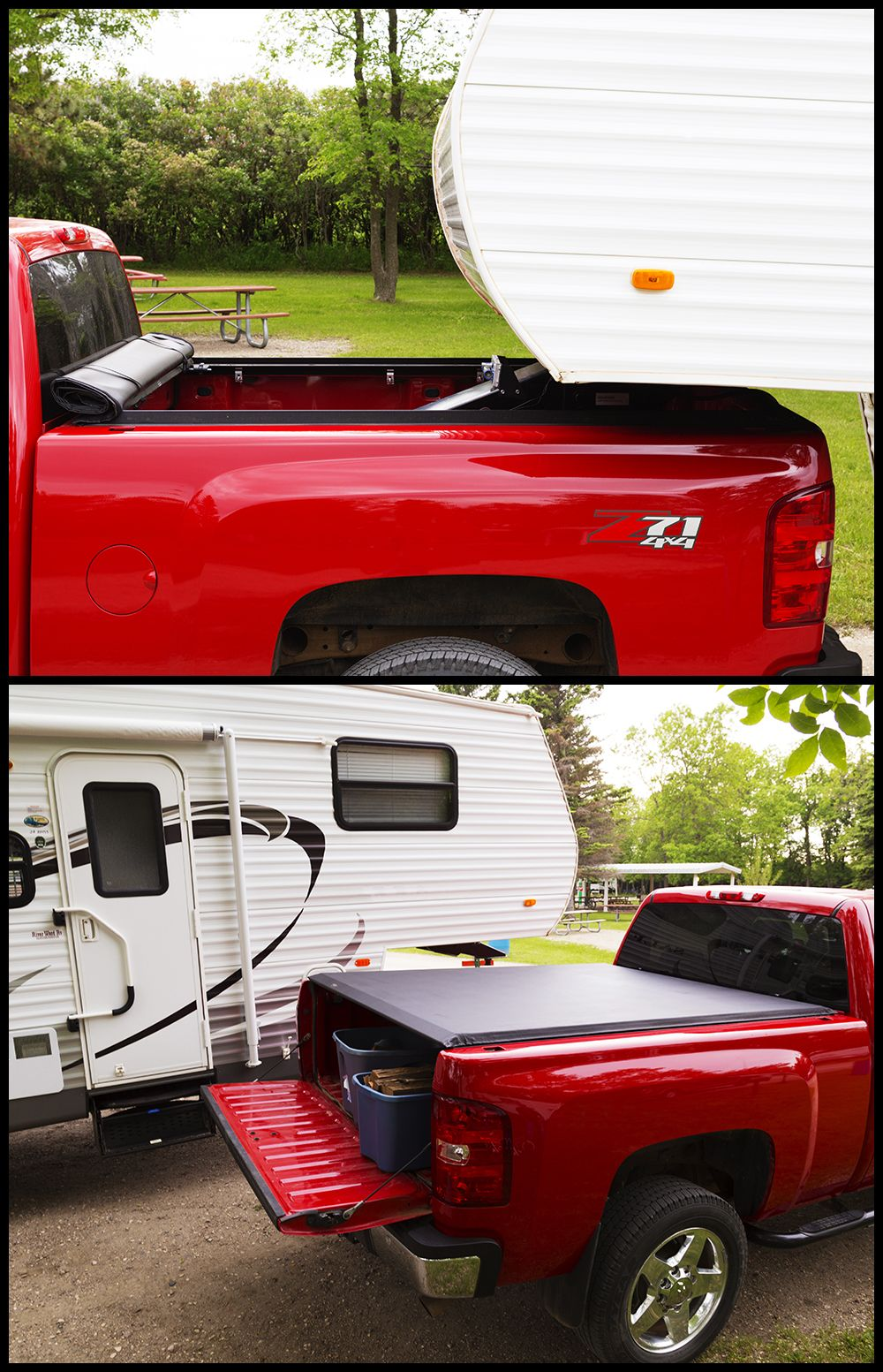 If you want to tow a big camper or other trailers, you