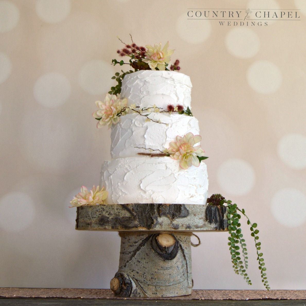Tiered cake stand aspen inches inches in wedding