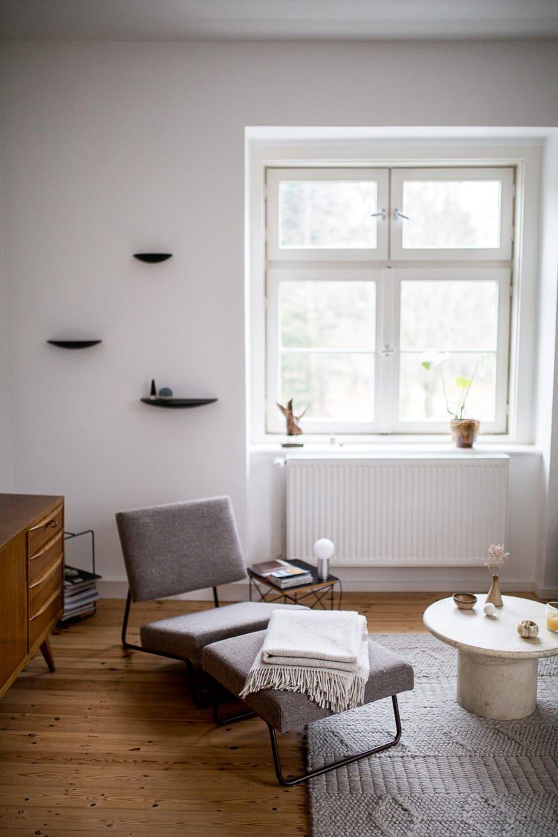 So Wohnt Christoph Kümmecke In Berlin. Wohnzimmer ...