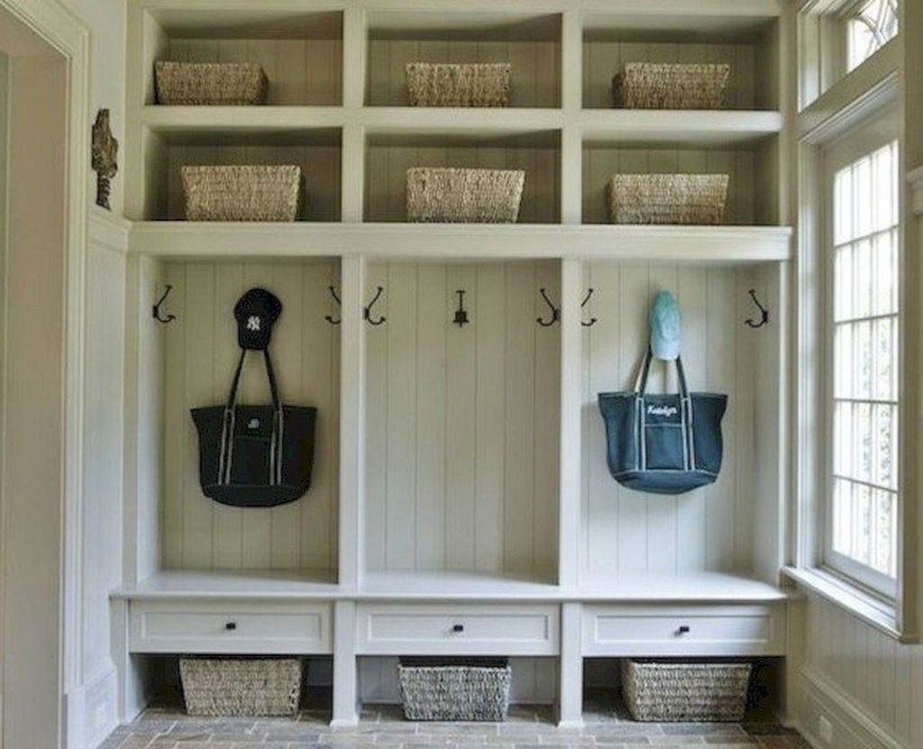 A mudroom can keep wet and cold weather at bay. It's the