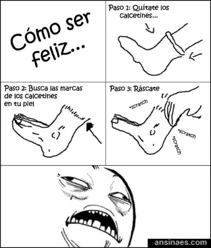 Si Quieres Ser Feliz Winter Jokes Rage Comics Funny Comics Your daily dose of fun! pinterest