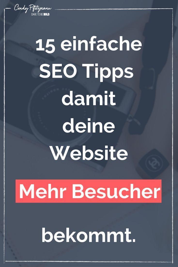 Einfache SEO Tipps für deinen Blog | Online Marketing ...