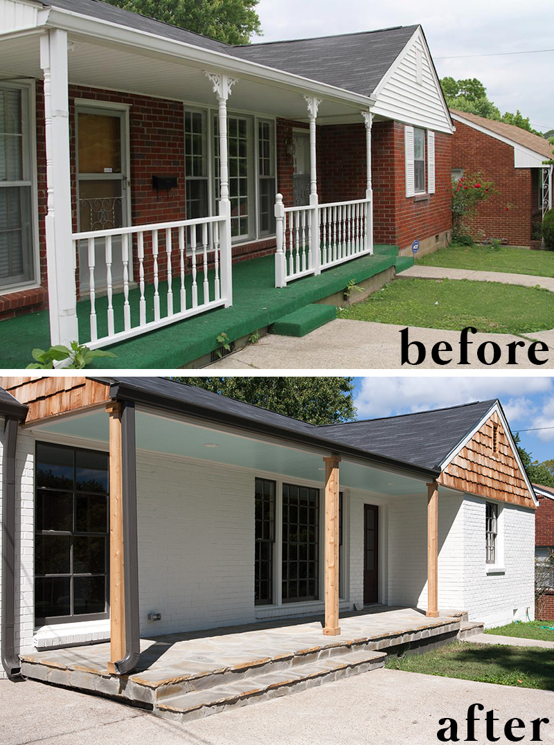 Nashville House Flip Before And After