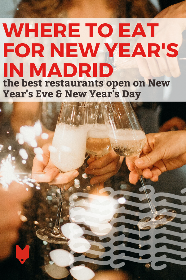 Where To Eat In Madrid On New Year S Eve New Year S Day Dinner Restaurants Madrid Restaurants Madrid