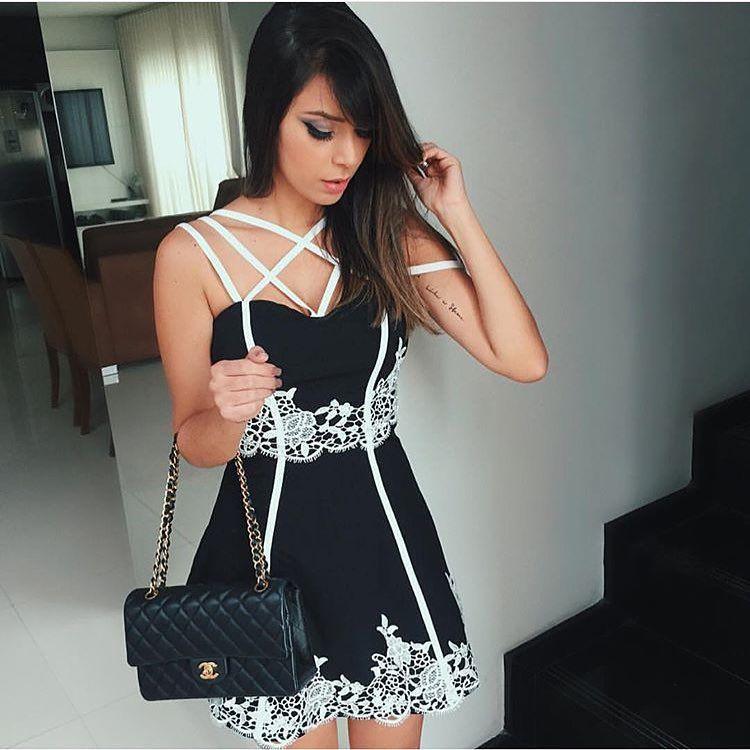 "226c682ecf Universo Das Divas 👑 no Instagram  ""Vestido perfeito 😻"""