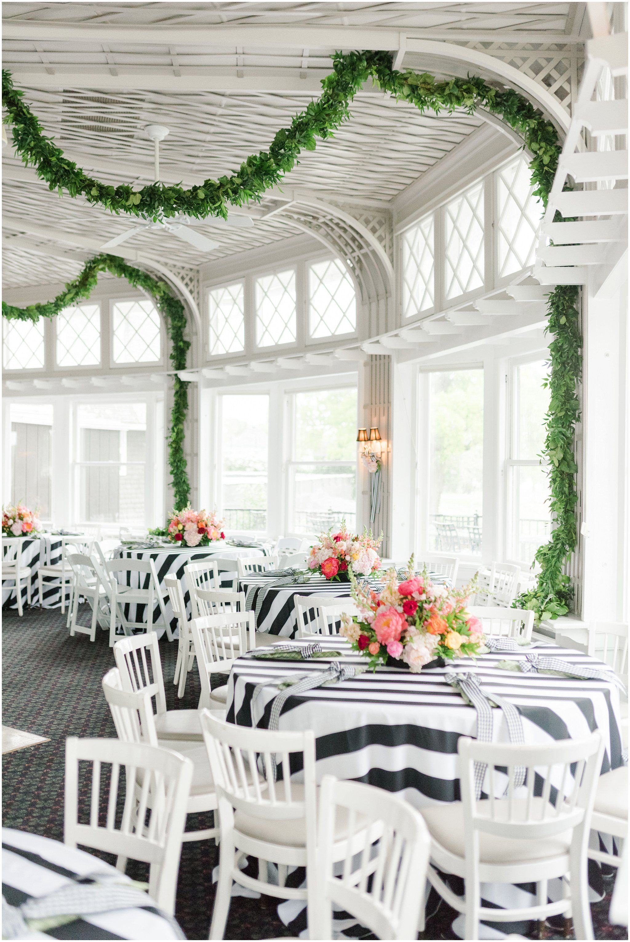 Kate spade inspired wedding reception toledo country