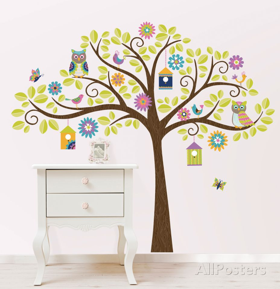 Hoot and hangout decal kit wall decal at allposters decor hoot and hangout decal kit wall decal at allposters amipublicfo Images