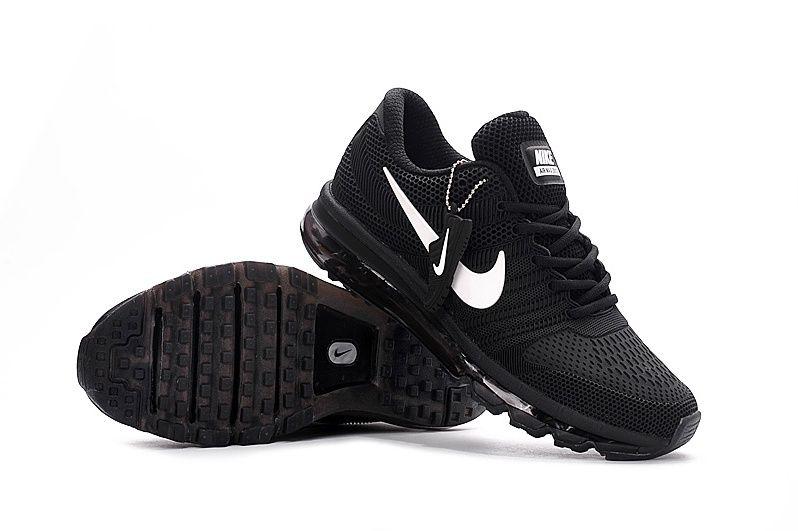 mejor proveedor precio baratas nuevo estilo y lujo Nike Air Max 2017 Women Men Black Shoes   Zapatos, Zapatos deportivos, Moda  hombre