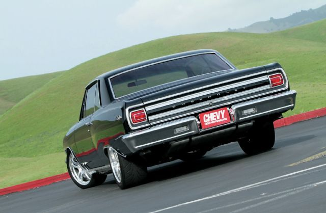 1965 Chevrolet Chevelle Rear View - when I say Chevelle, this is the image in my…