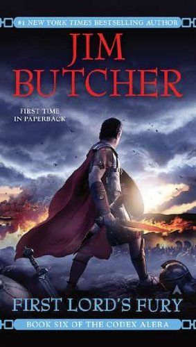 First Lord's Fury (Codex Alera, Book 6) by Jim Butcher, http://www.amazon.com/dp/0441019625/ref=cm_sw_r_pi_dp_JTDyqb0ZNGWD2