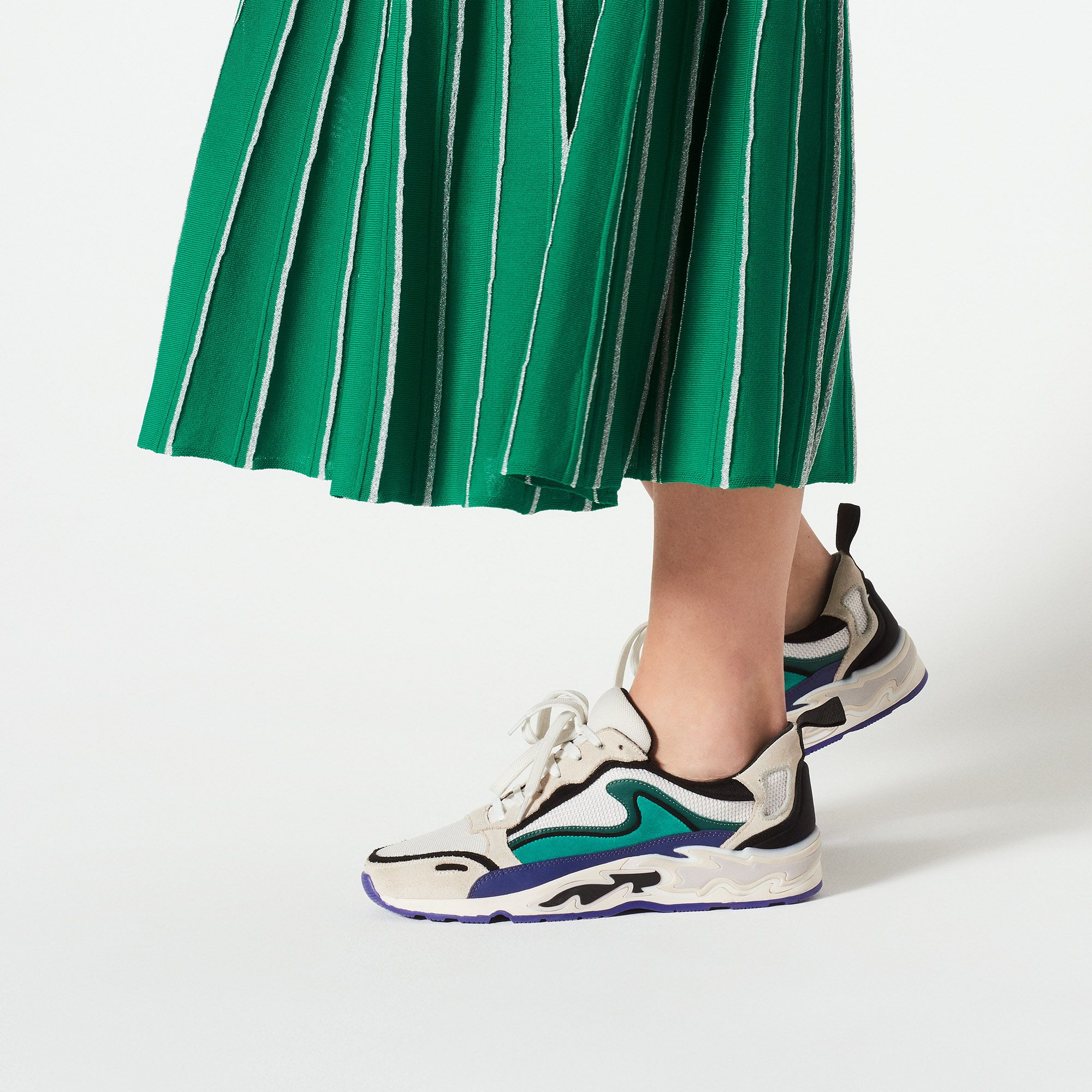 Flame Trainers | shoes in 2019 | Sandro, Fashion