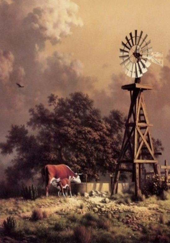 Windmill Farm Windmill Farm Paintings Windmill