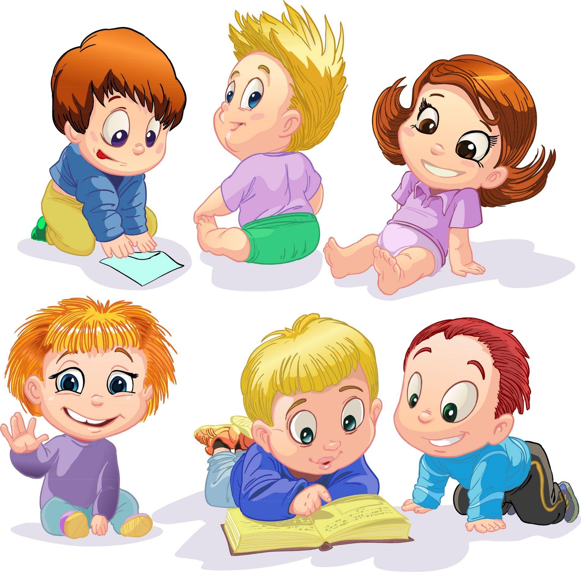 Нарисованные дети на картинках
