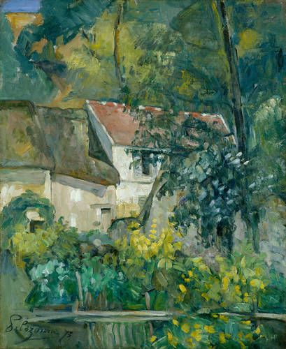 House of Père Lacroix, 1873 Paul Cézanne (French, 1839-1906)