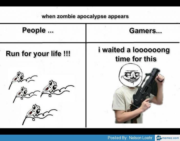 435e4823df562441707876550126462c when the zombie apocalypse appears memes pinterest funny