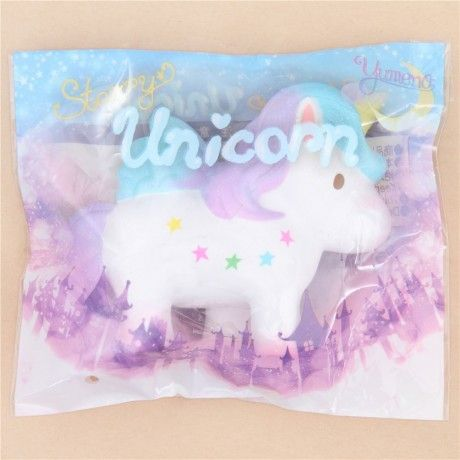 Squishy Donut Unicorn : scented white unicorn squishy by Yumeno Squishies, Slime and Toy