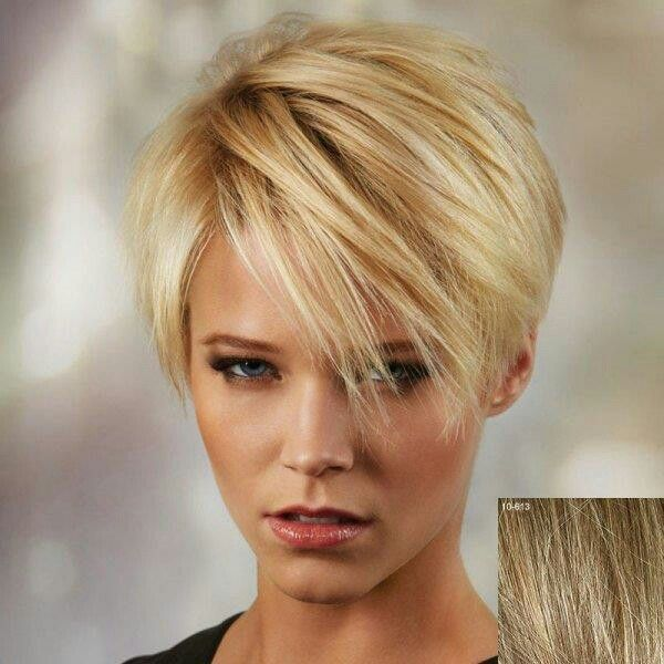 Pin by sharon calderone on hair cuts pinterest hair style short dressing yourself with our designer synthetic hair straight short blonde wig and make you look like stylish and fashion short wigs online shopping is your solutioingenieria Image collections