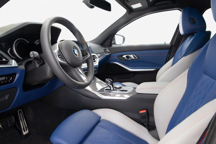 Have A Look Inside The Bmw M340i Xdrive First Edition Bmw Bmw Interior New Cars