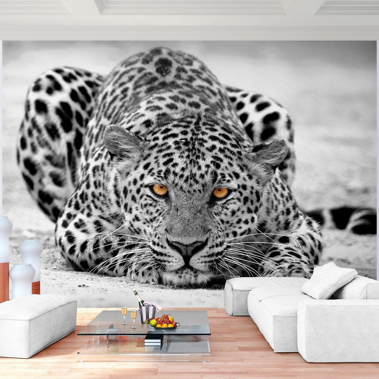 Fototapete Leopard 352 X 250 Cm Vliestapete Wandtapete Vlies Phototapete Wand Wandbilder Xxl 100 Made In Germ S Izobrazheniyami 3d Dekor Sten 3d Oboi Oboi Dekor