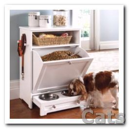 Pet Feeder Station Enjoy The Convenience Of Food Leash