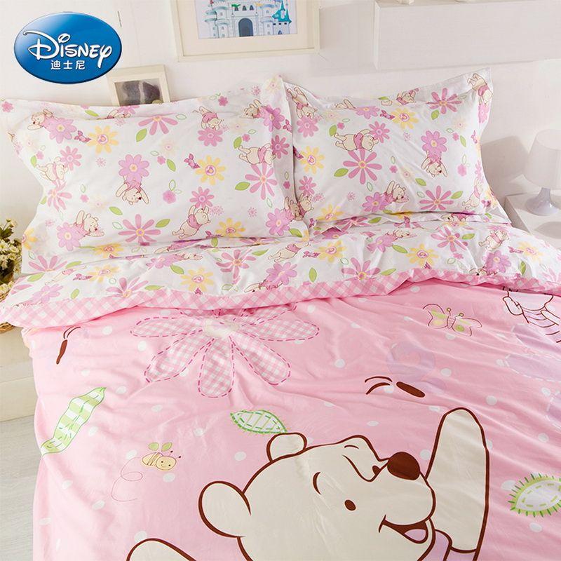 Winnie The Pooh Pink Luxury Disney Bedding Sets | Disney ...