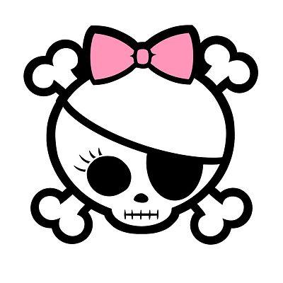 Pink Bow Eye Patch Lash Skull Artwork Skull Drawing Skull Tattoo Design