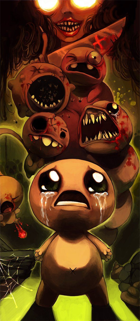 The Binding Of Isaac By Poketix On Deviantart The Binding Of Isaac Isaac Horror Art