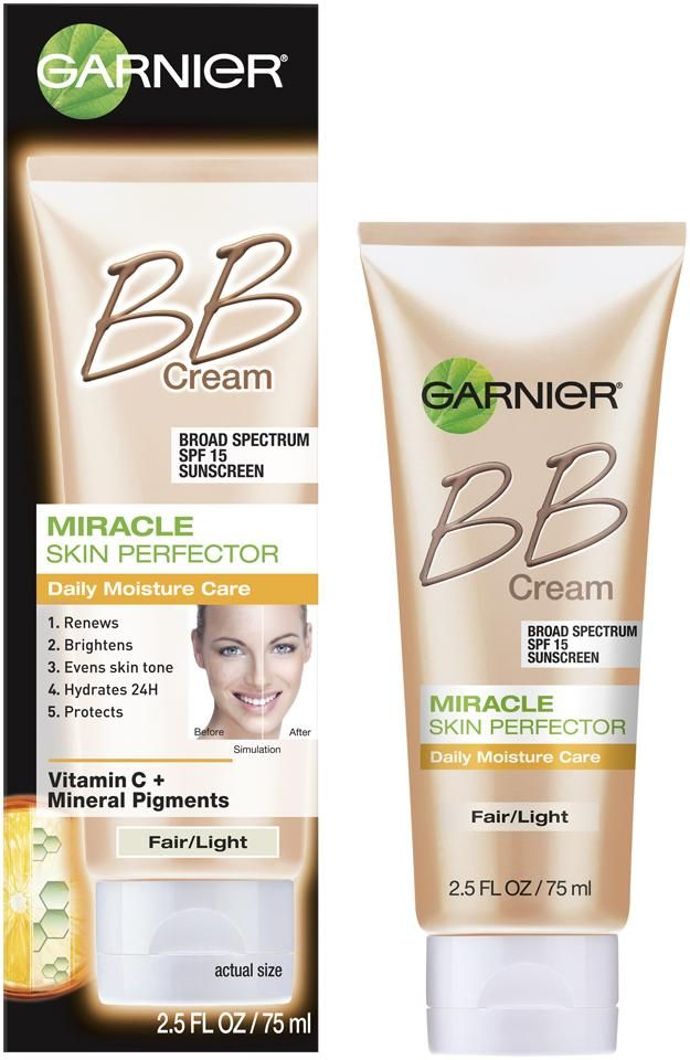 Amazon Com Garnier Skin Renew Miracle Skin Perfector B B Cream