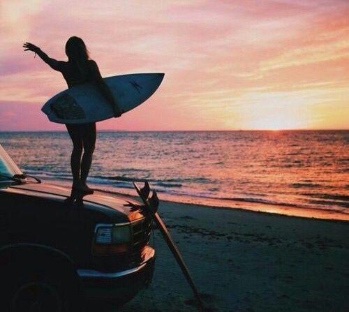 Summer surf good times good vibes