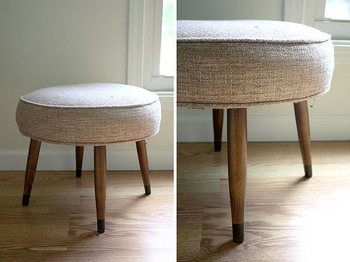 Furniture Rehab Stripping Wood Stool Legs Crafty