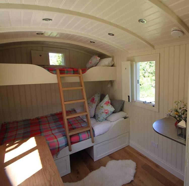 Shepherd Hut Floor Plans: A Home From Home Shepherd's Hut Holiday Rental