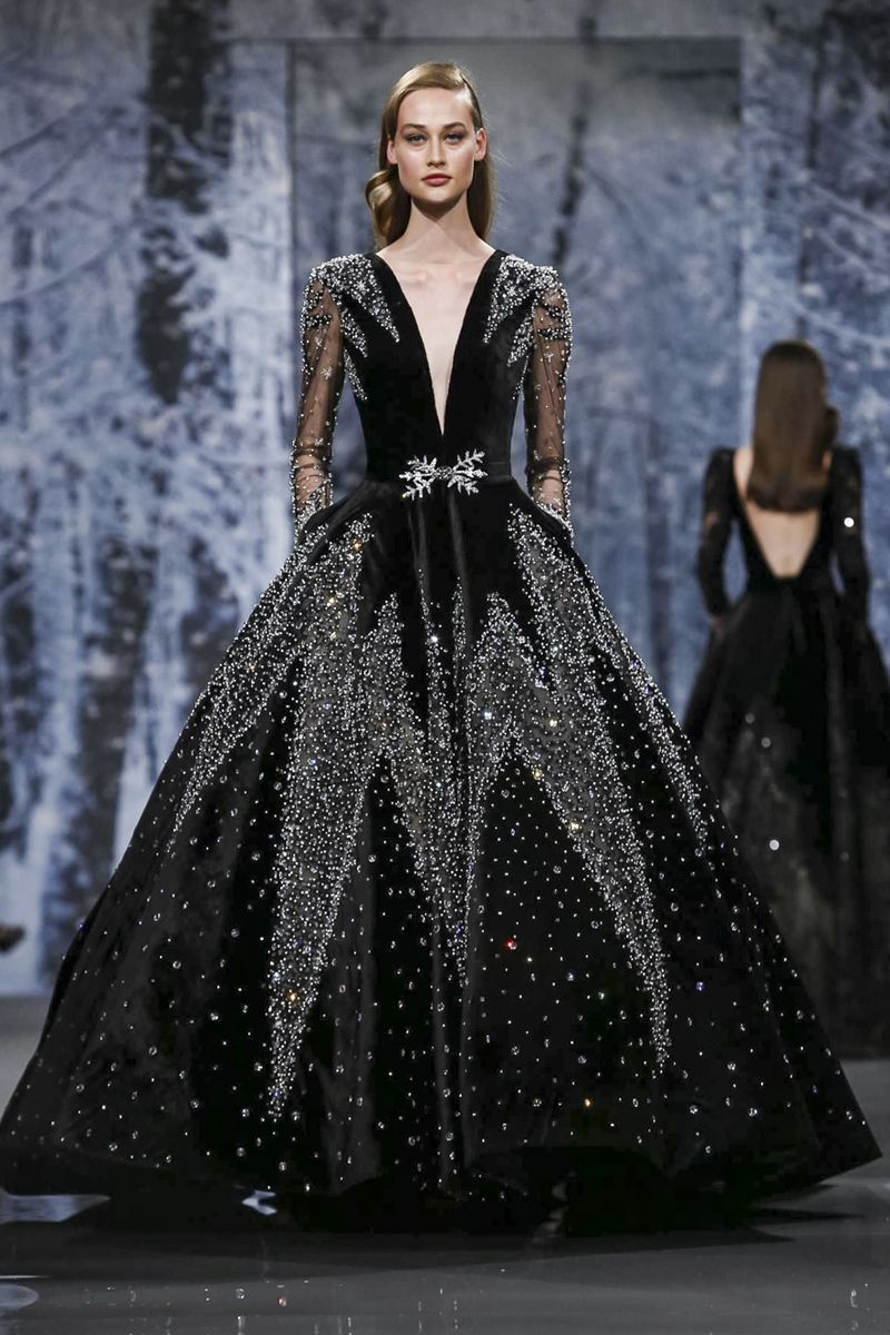 Ziad nakad couture fall winter paris gorgeous dresses and