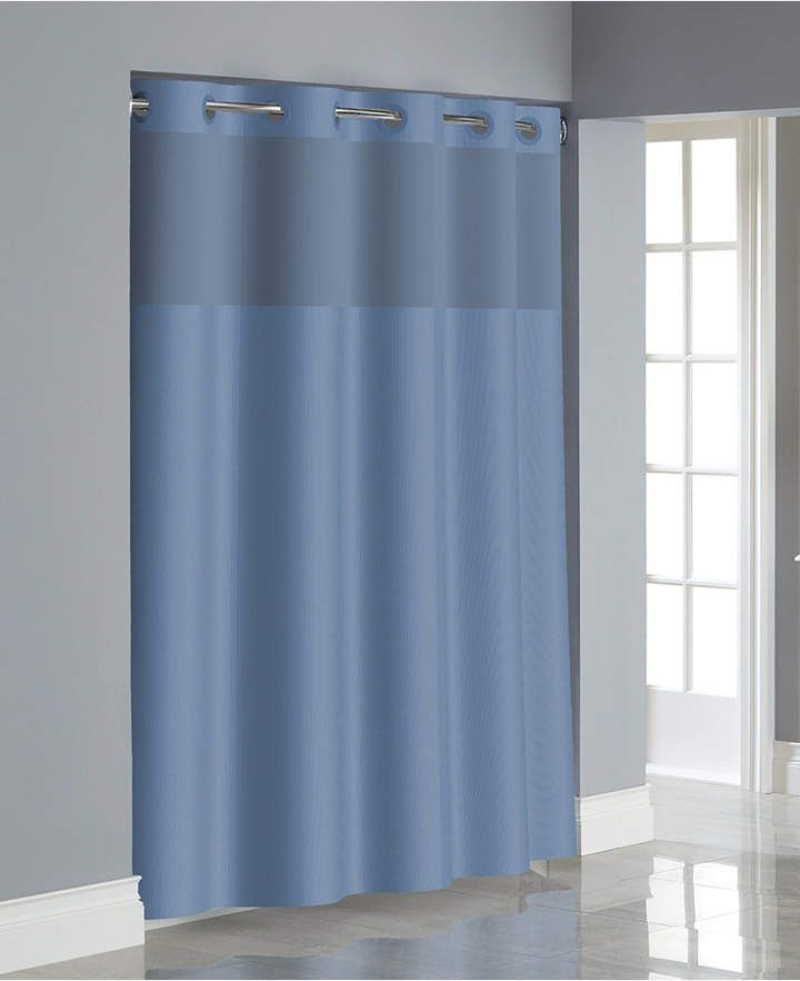 Hookless Dobby Texture 3 In 1 Shower Curtain Bedding In 2019