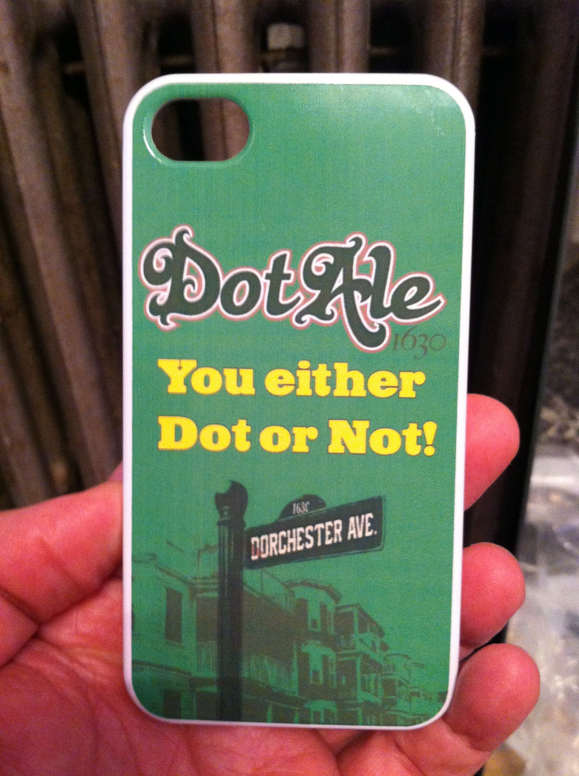 Our custom Dot inspired phone covers