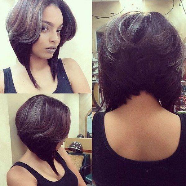 11 25 Super Cute Short Layered Bob Black Women S Synthetic Hair Wig