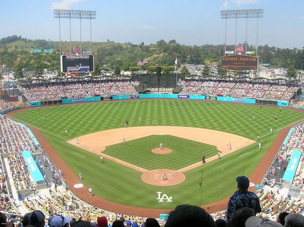Count Down Every Day To Major League Baseball Season Opening Day With Your Own Customizable Countdown Clock Baseball Stadium Baseball Season Dodger Stadium