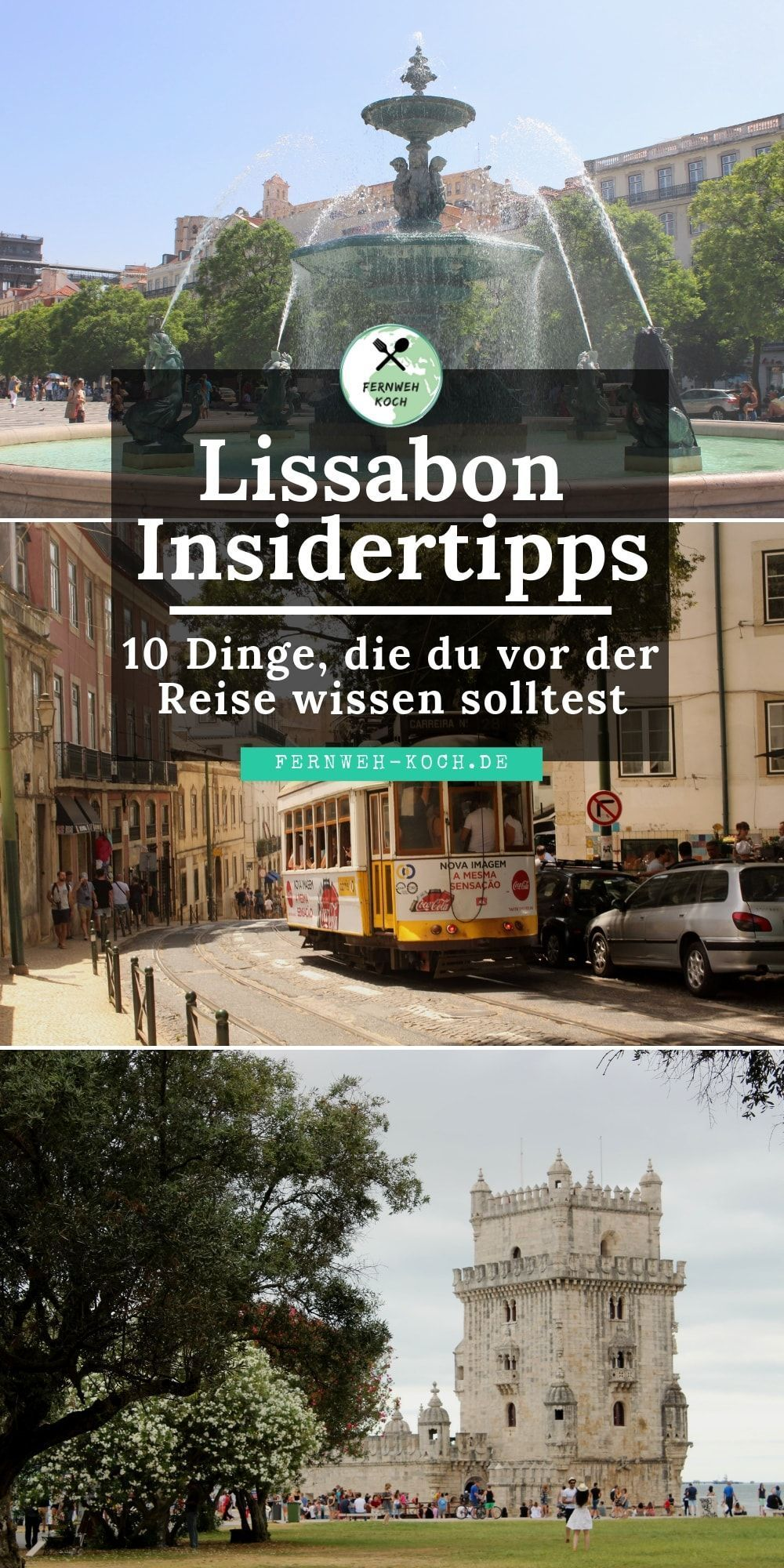 City break Lisbon: tips and tricks for your trip -  Lisbon in Portugal is a popular destination for a short vacation in Europe. I reveal 10 insider tip - #BeachTravel #Beaches #break #City #ComicBooks #ComicsAndCartoons #Lisbon #Tips #Tricks #Trip #VintagePosters #VintageTravel