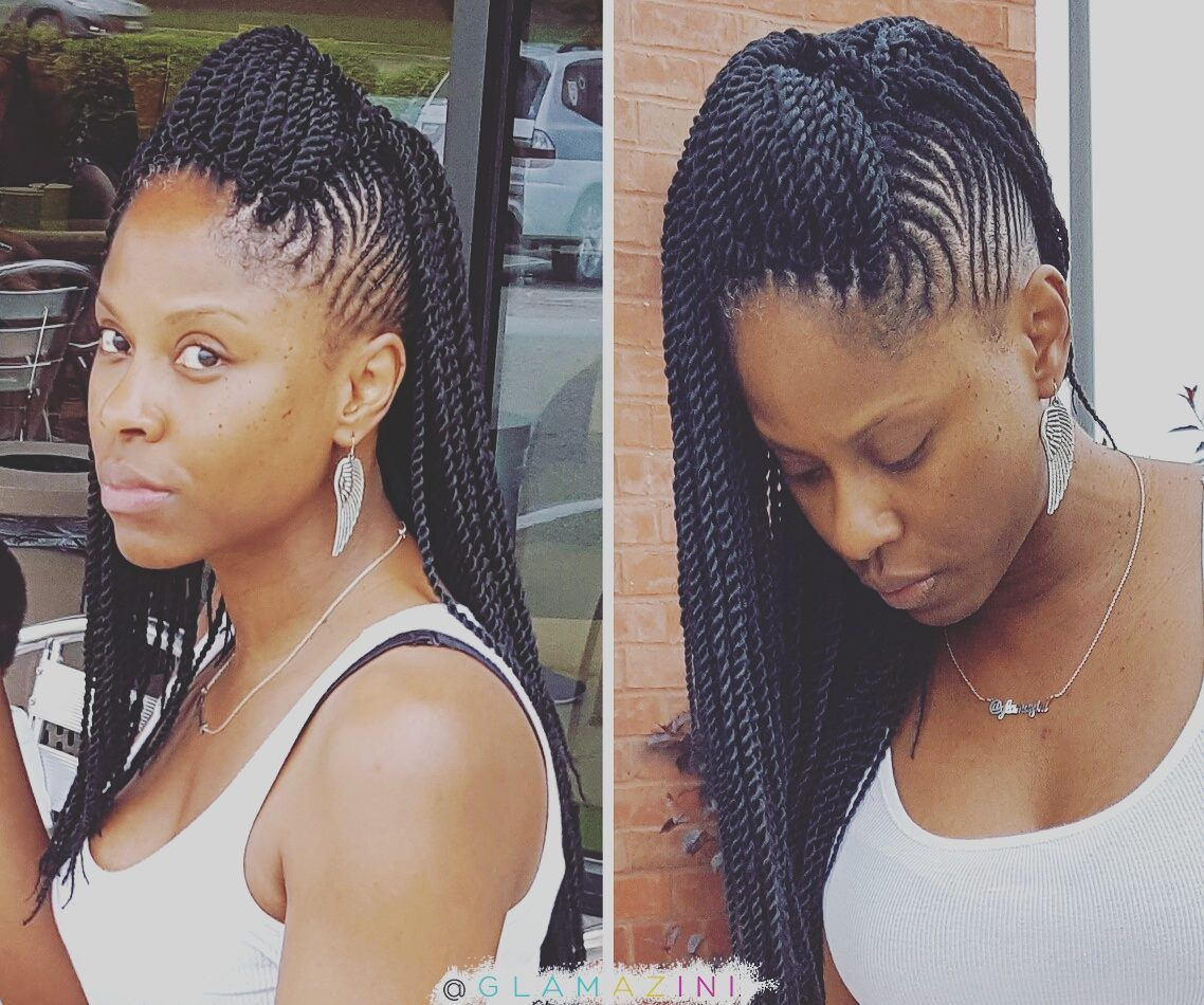 Pin By W W On Twists Braided Hairstyles Braids For Short Hair Carrot Hairstyles