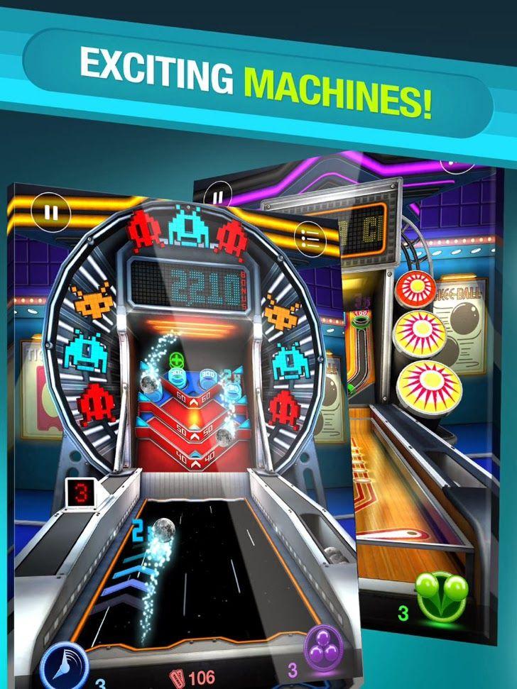 Skee Ball Arcade App Arcade, Skee ball, App