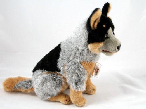 Details About Cattle Dog Blue Heeler Dog Marshall 13 33cm Soft