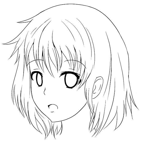 Sekai 39 s blog apprendre dessiner manga tutoriel manga comment dessiner le visage de trois - Comment colorier un manga ...