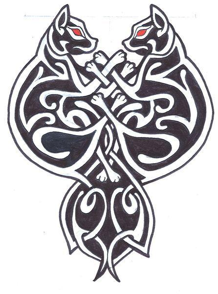 cat celtic coloring pages - photo#9