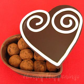 Chocolate Heart Boxes Valentines Celebration Pinterest