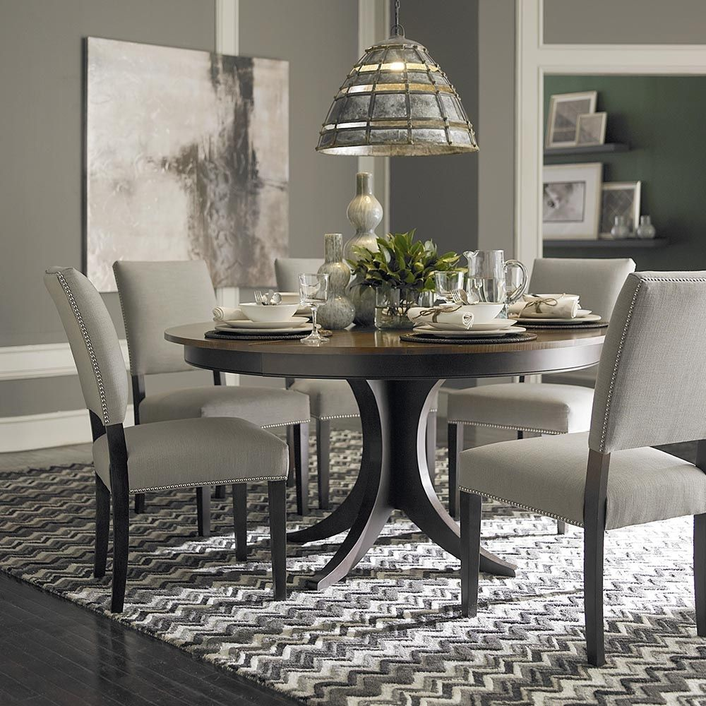 60 Inch Round Dining Room Table Sets | Round dining room ...