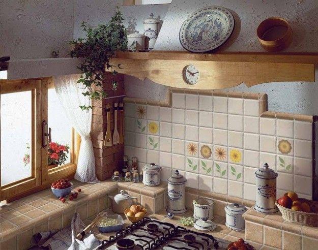 Piastrelle in ceramica - Piastrelle ceramica in cucina   Cucina