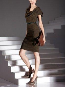 "Escada Diarina Dress worn by Olivia Pope in ""Happy Birthday Mr. President"" #scandal #oliviapope"